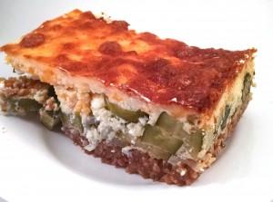 Greek-style Zucchini Casserole