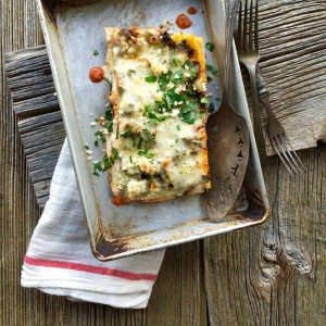 "It doesn't get more ""comfort food"" than lasagna!"